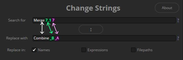 Multiple Searches in Change Strings