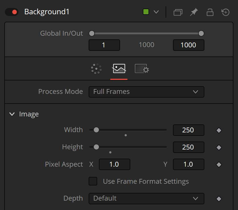 Fusion Background tool