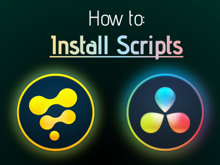 Image for How to install Scripts in Fusion or DaVinci Resolve