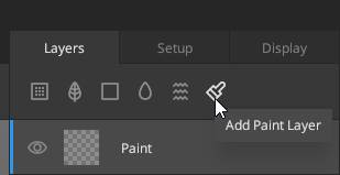 Quixel Mixer Paint Layer
