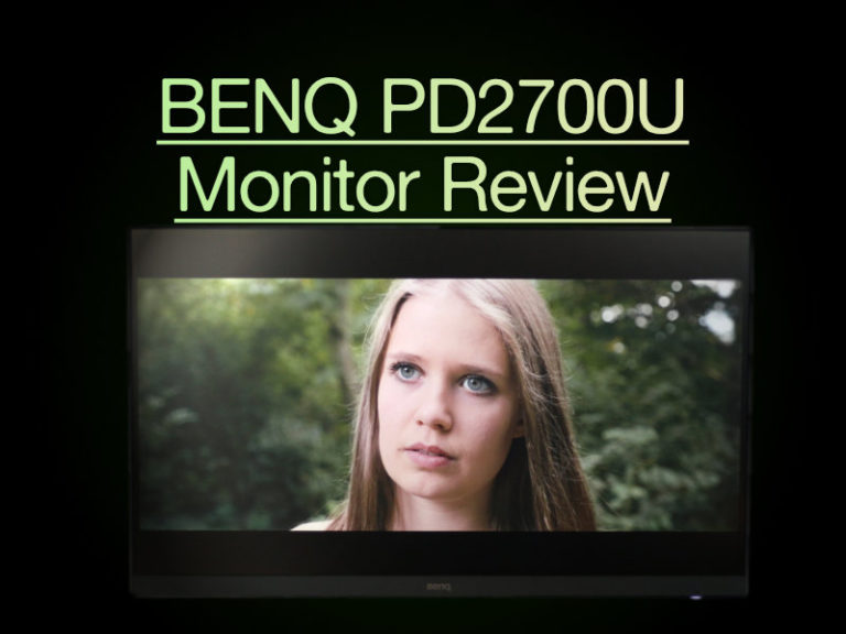 BENQ PD2700U Monitor Review