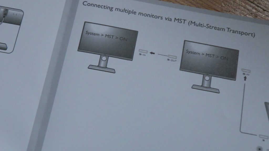 BENQ PD2700U connecting multiple monitors