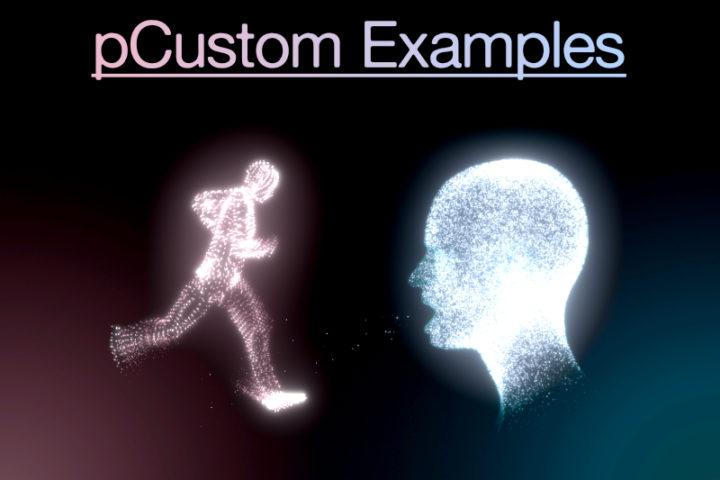 pCustom examples