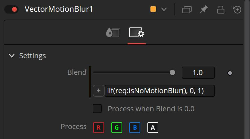 Expression to disable Motion blur