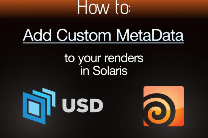 Custom Metadata in Houdini