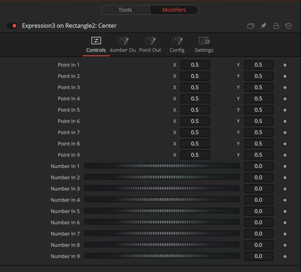 Blackmagic design Fusion and DaVinci Resolve Expression Modifier